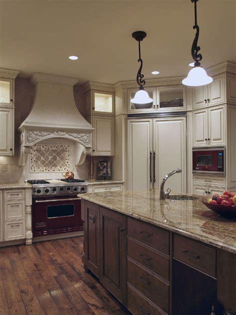 white antique   world kitchen traditional