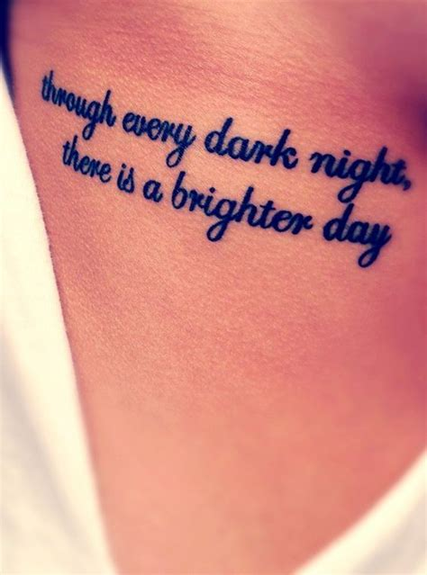 meaningful  inspiring tattoo quotes   tattoo