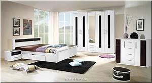 Schlafzimmer Weiß Hochglanz : komplettes schlafzimmer dublin hochglanz weiss schwarz ebay ~ Frokenaadalensverden.com Haus und Dekorationen