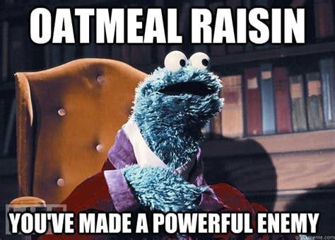Raisins Meme - no bake double chocolate chip granola bars vegan gluten free dairy free beaming baker