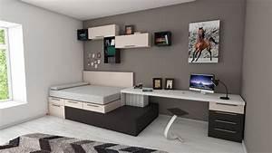 5 idees pour amenager et decorer une petite chambre With decorer une petite chambre