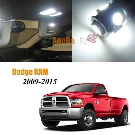 white led lights interior package for 2009 2015 dodge