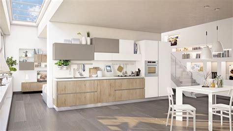 revetement table cuisine agencement cuisine table manger et chaises en bois peints