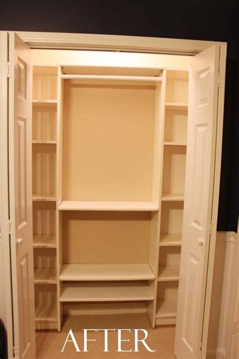 our 100 closet system ikea hack