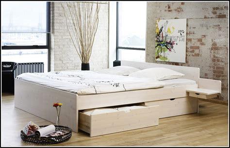 Ikea Malm Bett Mit Schubladen  Betten  House Und Dekor