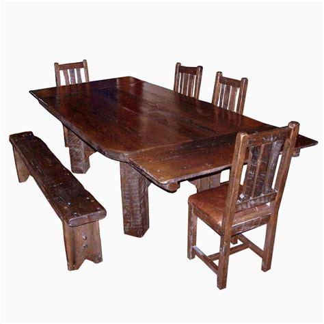 buy  handmade timberframe thick plank farm table