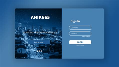 login page design see outlook