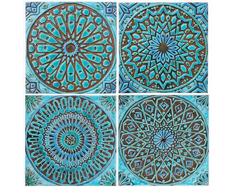 wall decor tiles 4 moroccan wall hangings ceramic tiles wall decor