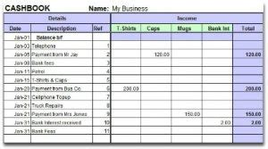 printable sales receipt template business card