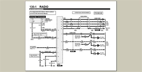 2002 Expedition Radio Wiring by 2002 Ford Expedition It Blows The 25 Fuse Wiring Diagram