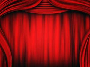Theater Curtain Backgrounds - PPT Backgrounds Templates