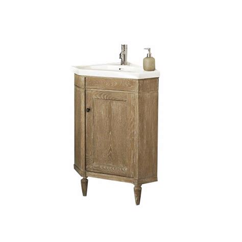 corner bathroom vanity set fairmont designs rustic chic 26 quot corner vanity set 142
