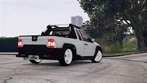 Gta 5 2008 Fiat Strada Adventure Stock Mod