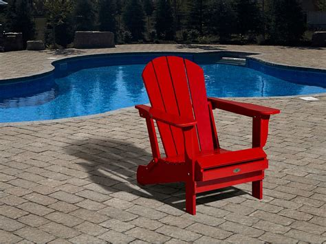 home leisure leisure line adirondack chair the