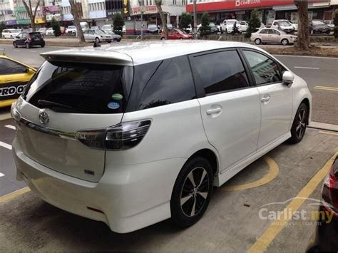 Toyota Wish 2012 X 18 In Johor Automatic Mpv White For Rm