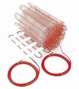 Plancher Rayonnant Electrique : plancher rayonnant de surface thintherm 0 5x1m 60w osily ~ Premium-room.com Idées de Décoration