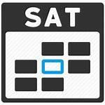 Icon Saturday Calendar Friday Week Sunday Transparent
