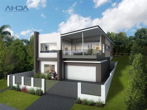 sloping blocks architectural house designs australia