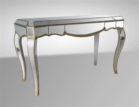 console table used as desk use console tables to decorate a small space la