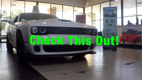 Picking Up My Wife's Rental Car & Checking Out A Hellcat