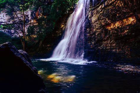 waterfall scenery  hd nature  wallpapers images