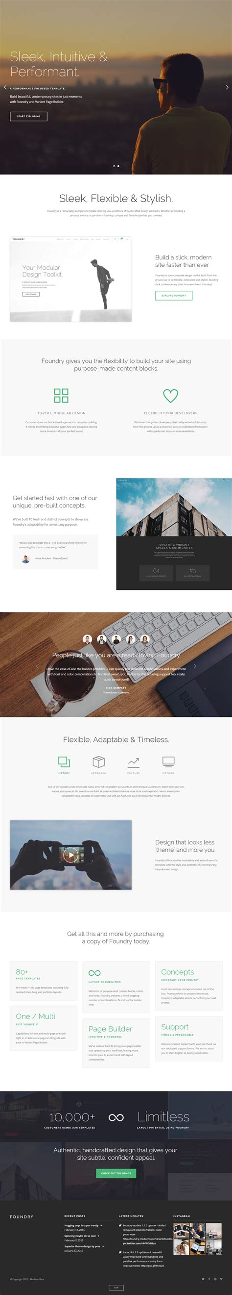 parallax website template 40 best responsive parallax scrolling website template