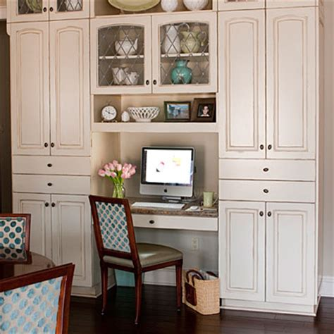kitchen cabinet desk kitchen desks outdated say it ain t so at the picket fence 2463