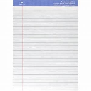 2pc Sparco Premium-grade Letter Size Legal Pad