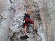 Female Rock Climbing Adventure