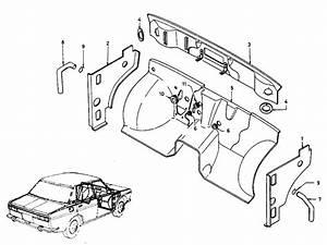 1994 Nissan Pathfinder Rear Suspension