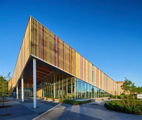 perkins  designs  vibrant terra cotta facade