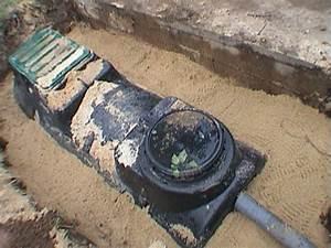 Fosse Septique Beton Ancienne : installer sa fosse septique et son pandage drain soi ~ Premium-room.com Idées de Décoration