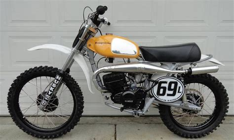1974- Husqvarna 125, Tricked Out