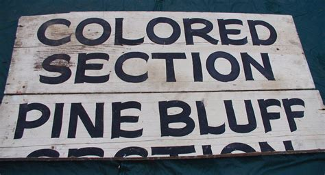 colored signs 1920s arkansas jim segregation colored sign