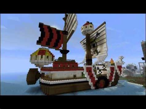 thousand sunny   piece pirate ship minecraft project