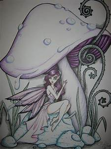Shroom Fairy by Kharlia on DeviantArt