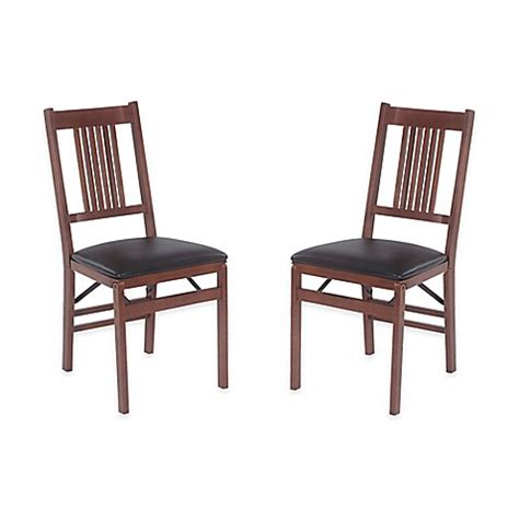 buy stakmore true mission wood folding chairs  fruitwood
