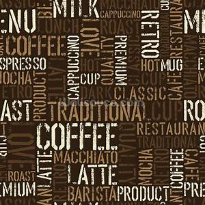 Abstract Coffee Wallpaper Wall Mural