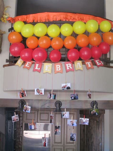 simple birthday decorations events to celebrate