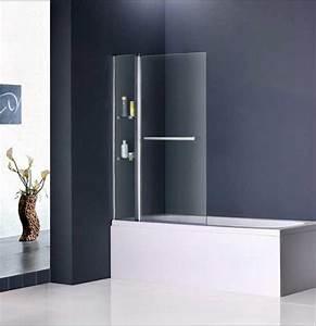Duschwand Für Badewanne : duschwand badewanne glas drehbare mit verchromte ~ Michelbontemps.com Haus und Dekorationen