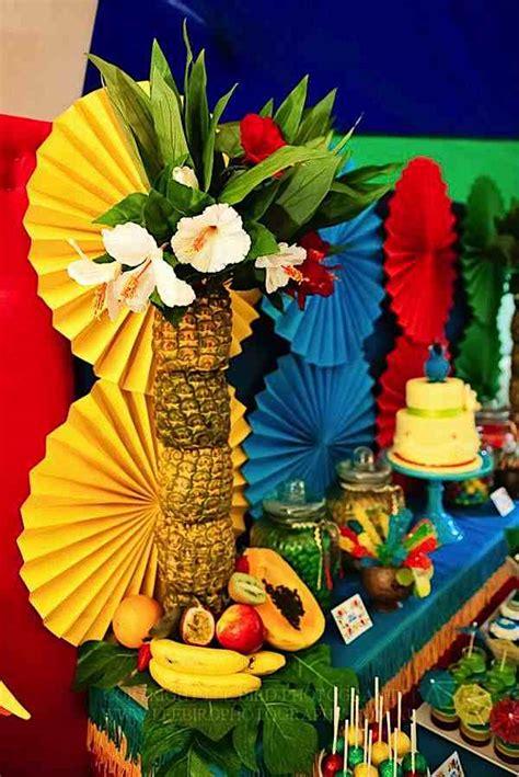 """Kara's Party Ideas """"rio"""" Themed 4th Birthday Jungle, Bird"""