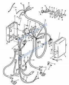 Evinrude Electric Start Junction Box Parts For 1965 33hp