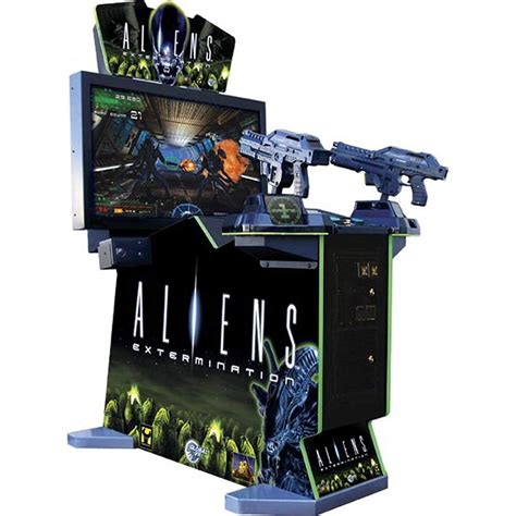 aliens extermination arcade elite home gamerooms