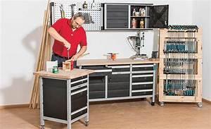 Werkstatt Selber Bauen : werkstatteinrichtung von wolfcraft ~ Orissabook.com Haus und Dekorationen