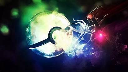 Pokemon 3d Dialga Pokeball Wallpapers Ghost Fan