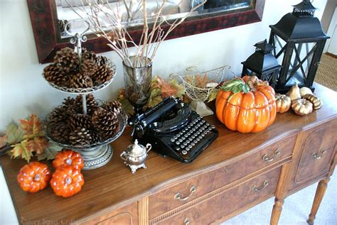 Fall Home Decor Ideas by Fall Decorating Ideas Canary Crafts