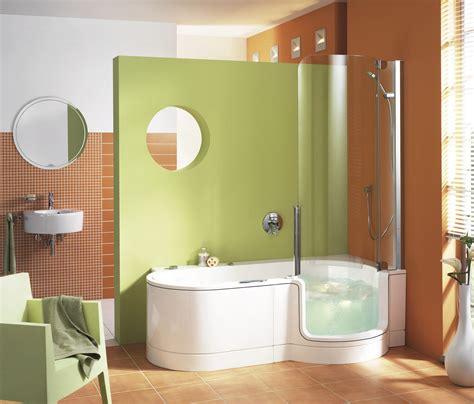 badewanne mit dusche kombiniert bad wellness24 artweger twinline 1 dusche badewanne 180 mit t 252 r und sch 252 rze gerundet