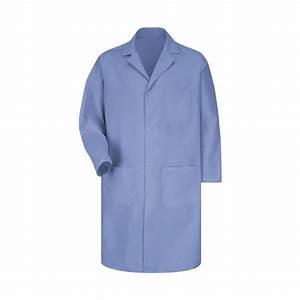 Scrub Authority Red Kap Men 39 S Snap Front Lab Coat