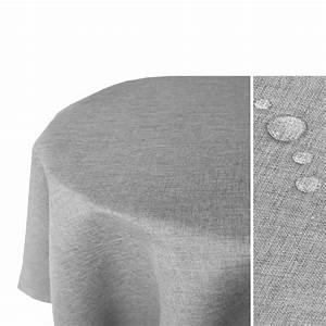 Tischdecke Oval 160x220 : leinen optik tischdecke oval 160x220 hellgrau real ~ Orissabook.com Haus und Dekorationen