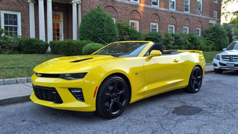 Convertible Camaro 2017 chevrolet camaro ss convertible review the drive